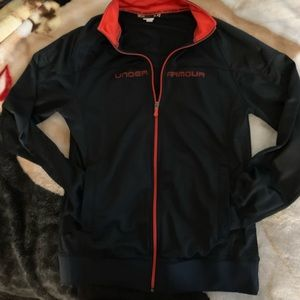 Under armour zip up size M
